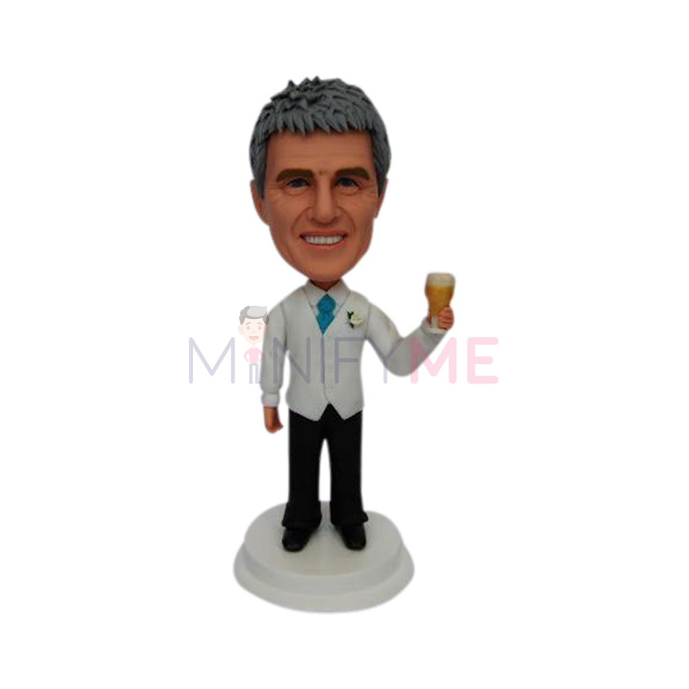 Father Of The Bride Wedding Cake Topper