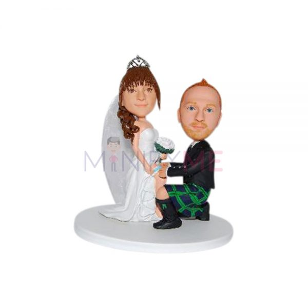 Fun Wedding Cake Topper